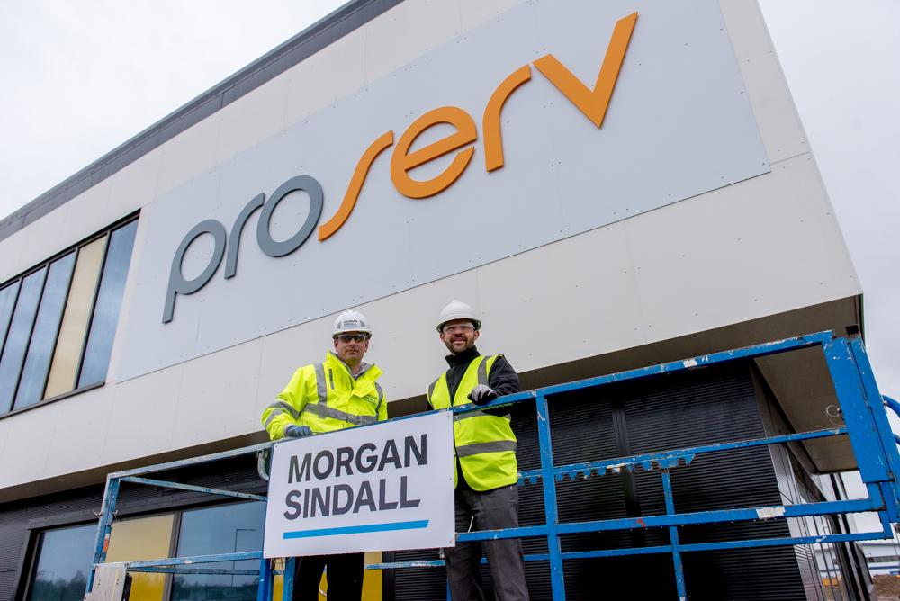 PR Photography Yarmouth for Morgan Sindall